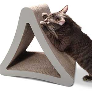 PetFusion 3 Sided Vertical Cat Scratching Post